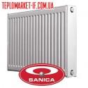 Радіатор  11  500 х1200   SANICA   1312Вт