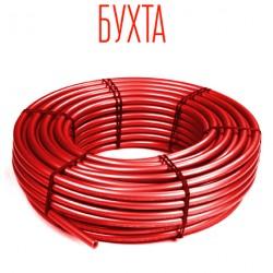 Труба (шитий поліетилен)  16х2,0   ABS  Червона  (200м)