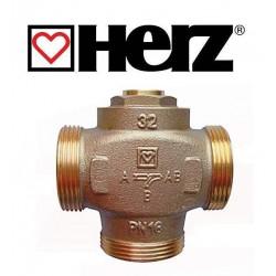 "Клапан   трьохходовий   1"" 1/4 (DN32)  55°С  HERZ-TEPLOMIX"